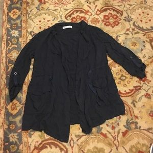 Zara navy blue jacket